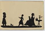 Paper-Bound Album of Silhouettes