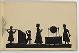 Paper-Bound Album of Silhouettes