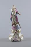 """Figure of the """"Immaculate Virgin"""" (""""Immaculata"""") and Pedestal"""