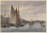 Boats in Trouville