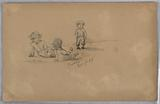 Sketch of Three Children