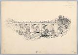 A Bridge, Design for Washington Board of Trade Dinner, May 13, 1908