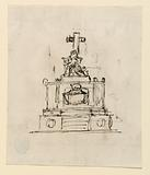 Two Sketches for a Sepulchral Monument