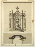 Elevation of a Fountain