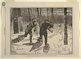 Deer-Stalking in the Adirondacks in Winter, from Every Saturday, January 21, 1871