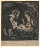 Saint Francis and Saint Clara Adoring the Infant Jesus