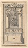 Project for the elevation of an altar