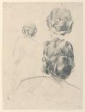 "Study for a woman, ""Vintage Festival,"" Mendelssohn Glee Club, New York, NY"