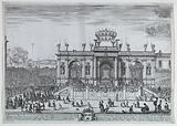 The Exposition of the Holy Sacrament, Attended by Louis XIV and His Mother, Anne of Austria