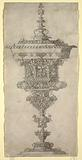 Standing Cup with Cover, from the series, Novum opus cratero graphicum…