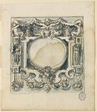 Project: decoration with escutcheons, (A) of a square, (B) of a horizontally oblong panel