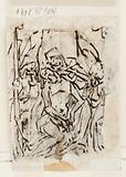 Recto: Judith with head of Holofernes. Verso: Pietà.