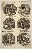 Six Theseus Subjects for the Palazzo Gaddi, Forli