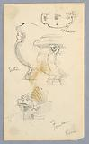 Sketches of a Fountain in Rome