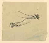 Study of two hands reaching
