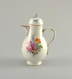 Coffeepot with Flowers