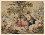 Seated Shepherd