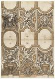 Design for Sculptured Decorations of Ceiling