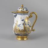 "Coffeepot with ""Hausmaler"" Decor"
