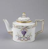 Teapot with Urn Pattern