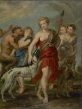 Diana and Her Nymphs on the Hunt