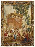 Tapestry: La Collation, from L'Histoire de l'empereur de la Chine Series