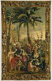 Tapestry: La Récolte des ananas, from L'Histoire de l'empereur de la Chine Series