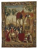 Tapestry: Les Astronomes, from L'Histoire de l'empereur de la Chine Series