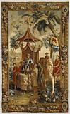 Tapestry: L'Empereur en voyage, from L'Histoire de l'empereur de la Chine Series