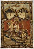 Tapestry: Le Retour de la chasse, from L'Histoire de l'empereur de la Chine Series