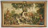 Tapestry: Le Cheval rayé from Les Anciennes Indes Series
