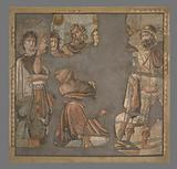 Mosaic Floor with Achilles and Briseis