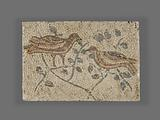 Fragment of a Mosaic with Birds