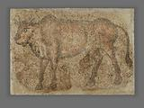 Mosaic of a Bull