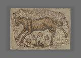 Mosaic fragment of Bull