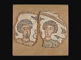 Mosaic Panel with two Male Busts