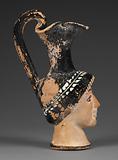 Attic head Vase
