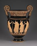 Lucanian Red-Figure Volute Krater