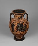 Attic Black-Figure Neck amphora