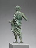 Statuette of a Man inscribed with a Dedication to the Etruscan God Lur