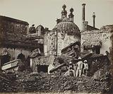The Mine in the Chattar Manzil, Exploded by the Enemy at the First Attack of General Henry Havelock