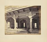 Agra; the Fort, Interior of the Zenana, Showing the Mosaic Work