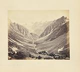 Valley and Snowy Peaks, Seen from the Hampta Pass, Spiti Side