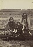Arapaho Chief Powder Face, his Squaw, and their Son
