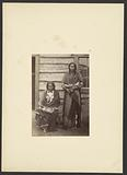 Sons of the Arapaho Chief, Little Raven [Little Bear and Shield, probably at Camp Supply]