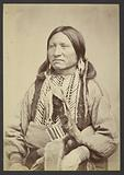 Kiowa Chief Kicking bird [Striking Eagle, T'ene-angopte]