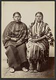Two Cheyenne Squaws, Sauke and Hatpy [Daughters of Little Robe]