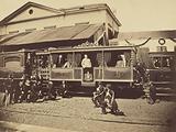 Pope Pius IX's Private Train at Velletri