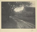 Barn and road
