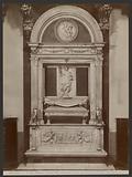 Firenze – Chiesa di Badia. Monumento al Conte Ugo Marchese di Toscana.